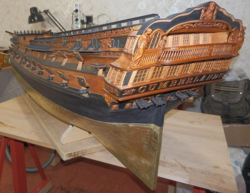 HMS Cumberland 1774, 1:36  Pa242518