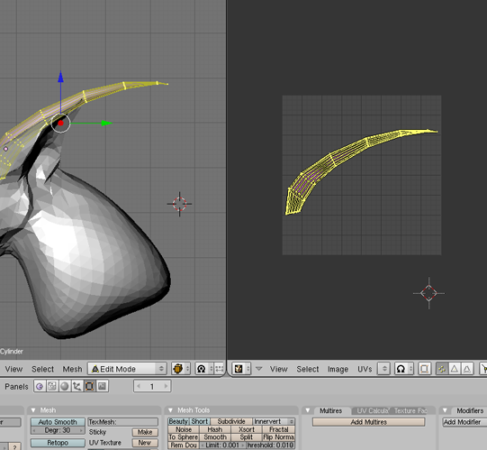 item - Shad's Re-made Item-Mesher Tutorial (currently no Rigging tutorial ); ) 16uv10