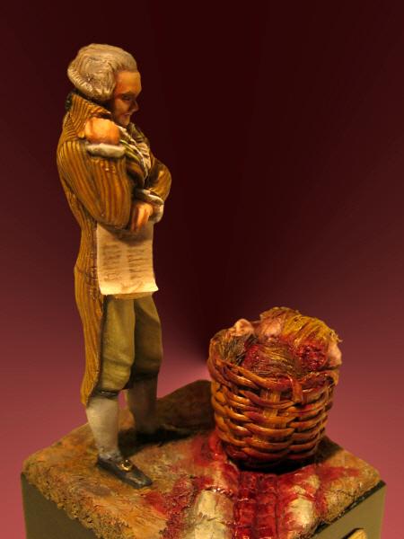 FINI : Robespierre - Mokarex - 54 mm-ajout reconstitution virtuelle de son visage Img-2711