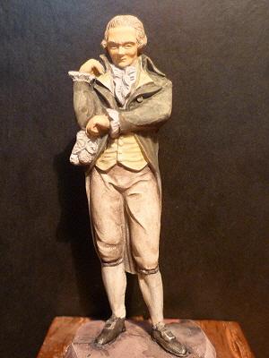 FINI : Robespierre - Mokarex - 54 mm-ajout reconstitution virtuelle de son visage P1020122