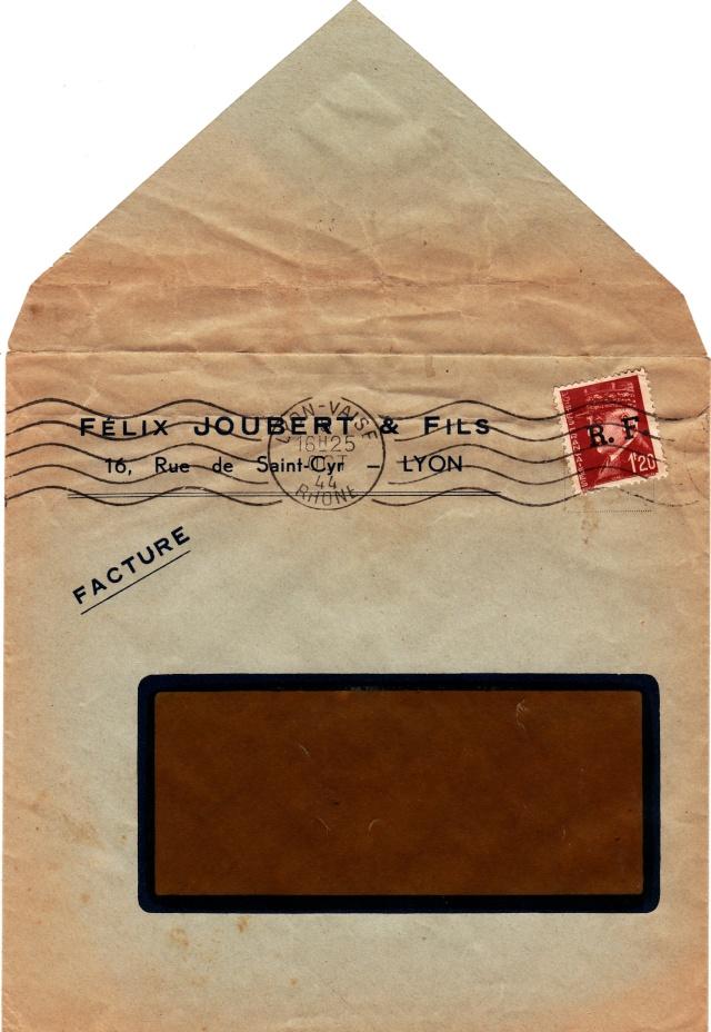 Tarif des factures et assimilés pendant la Deuxième Guerre mondiale Factur11