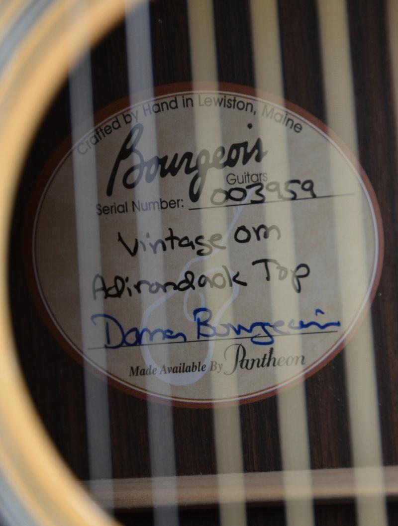 Bourgeois Vintage OM ... lefty Bourge13