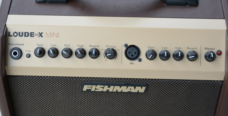 Ampli FISHMAN LoudBox mini.... VENDU Fish210