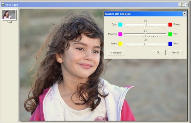 Recadrer et corriger une photo avec les plugins de Photofiltre. Color110