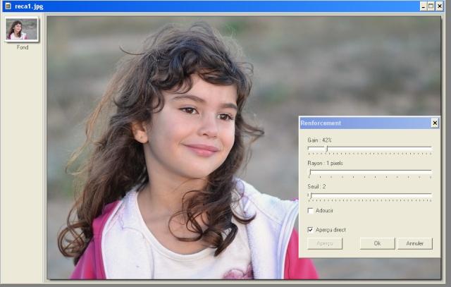 Recadrer et corriger une photo avec les plugins de Photofiltre. Net10