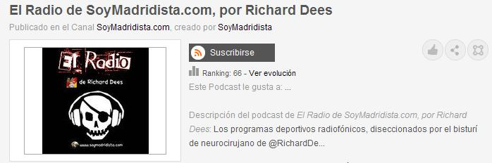 Postcast - El radio de Richard Dees Elradi10