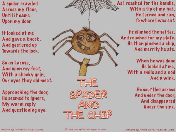 The Spider & the Chip ..More Great Work From Darth The_sp11