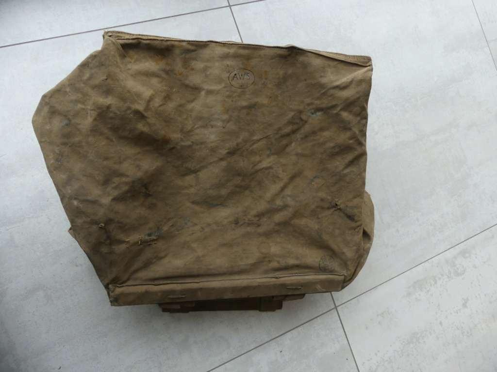 sac allemand WW1 P1020334