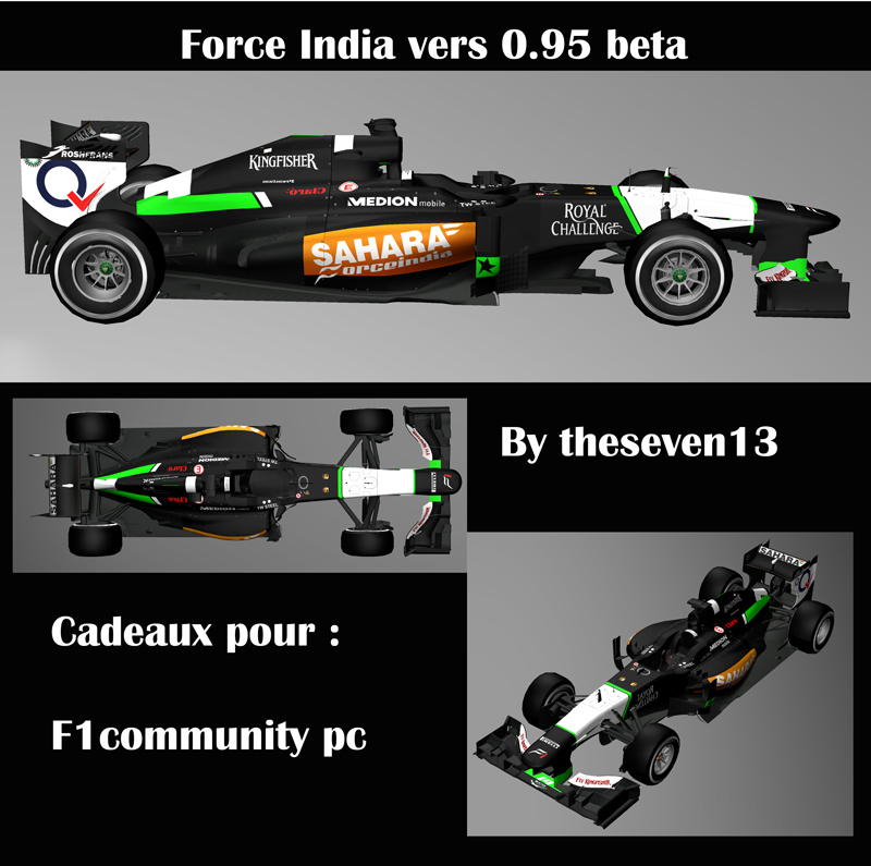 FORCE INDIA 2014 |by theseven13 Force-10