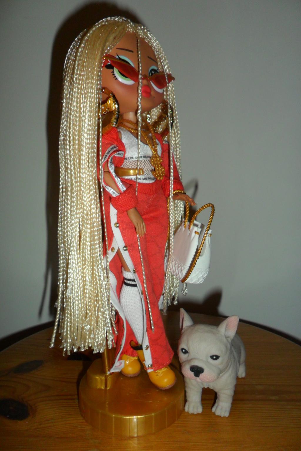 Parce qu'il n'y a pas que Barbie dans ma vie de collectionneuse ! Snapstar et Lol OMG Sam_9865