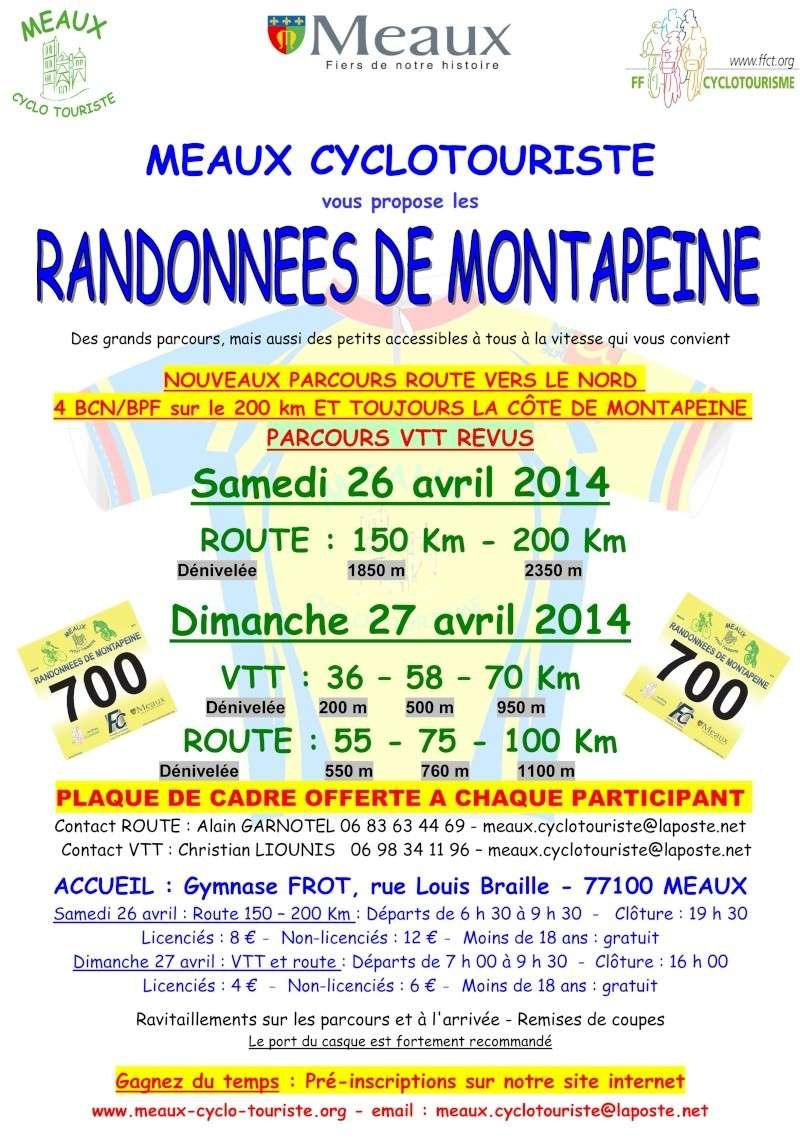 LA MONTAPEINE MEAUX   27 AVRIL 2014 Affich10