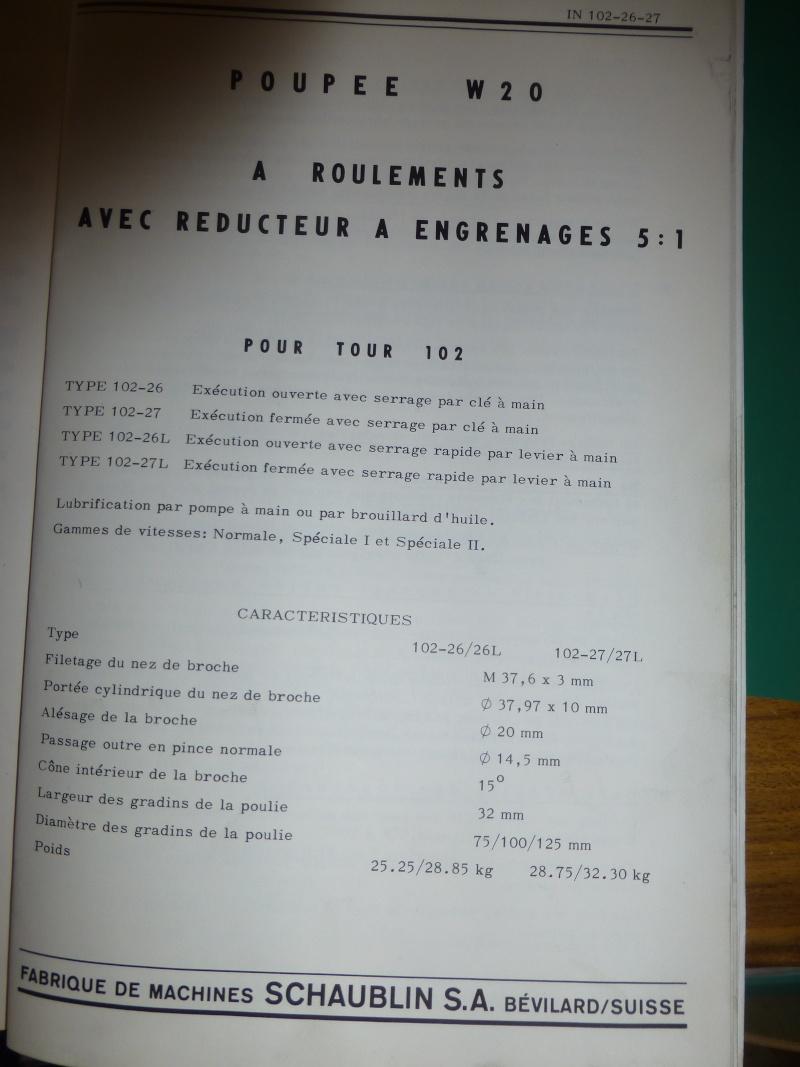 graissage Schaublin 102 P1010315