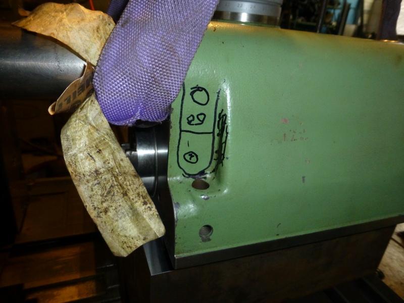 Installation d'une nouvelle tête verticale pour ma fraiseuse Schaublin 13 P1010414
