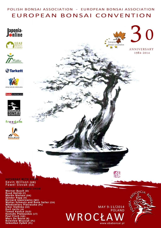 EBA&ESA Bonsai Convention Wrocław 9-11 may 2014 Plakat10