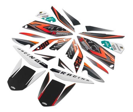 "Kit stickers""race"" 61308910"