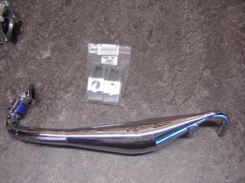 Baja roofchopper inox + RCMK 30.5  0024110
