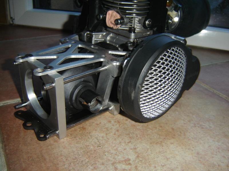 Baja roofchopper inox + RCMK 30.5  0051910