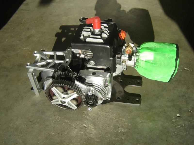 Baja roofchopper inox + RCMK 30.5  0061510