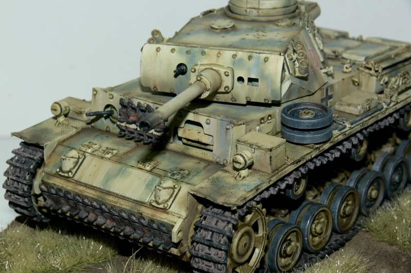 WIP - close to finishing my flammpanzer project. P1140613