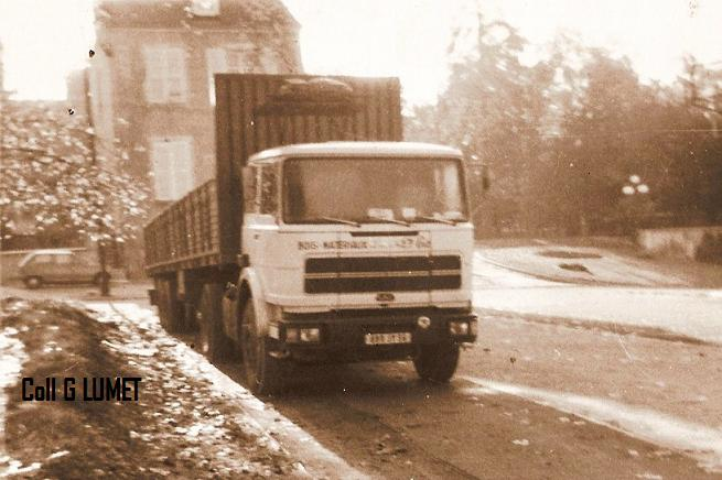 Transports AUGRAS jacques et Geay Freres  la famille de Buzancais G210