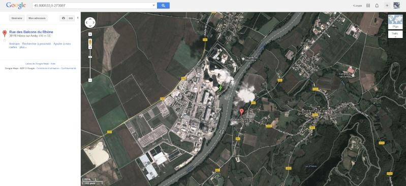 2013: le 05/12 à 22h30 - Ovni triangulaire volant - Pont de cheruy - Isère (dép.38) Centra10