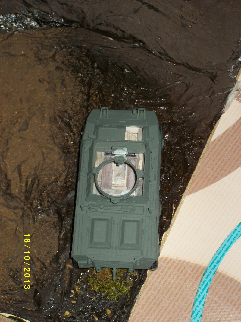 Ferme de la Trappe détruite M 20 + möbelwagen Tamiya 1/48 Imgp1247