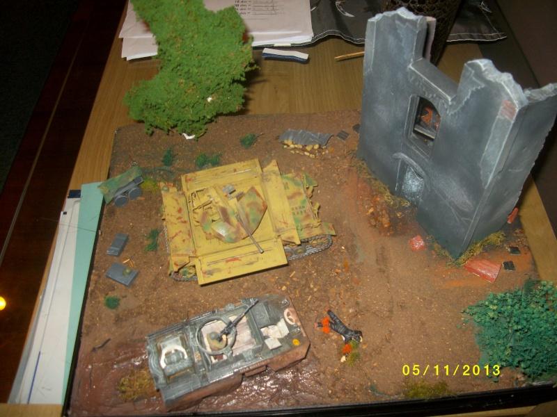 Ferme de la Trappe détruite M 20 + möbelwagen Tamiya 1/48 - Page 2 Imgp1264