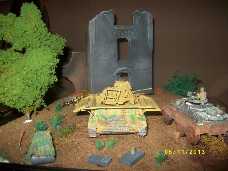 Ferme de la Trappe détruite M 20 + möbelwagen Tamiya 1/48 - Page 2 Imgp1311