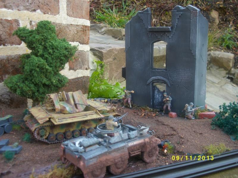 Ferme de la Trappe détruite M 20 + möbelwagen Tamiya 1/48 - Page 2 Imgp1315