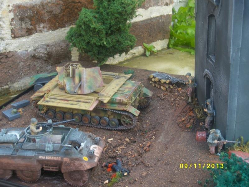 Ferme de la Trappe détruite M 20 + möbelwagen Tamiya 1/48 - Page 2 Imgp1316