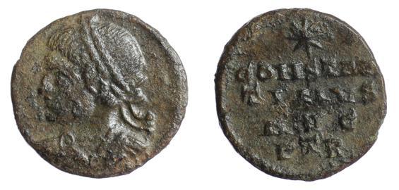 les monnaies anépigraphes pour les vicennales de Constantin Ier à Trèves B4i6sn10