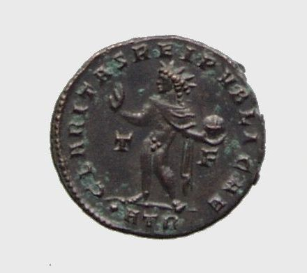 Vente/echange Constantin II CLARITAS REIPVBLICAE superbe piece 30€ D16