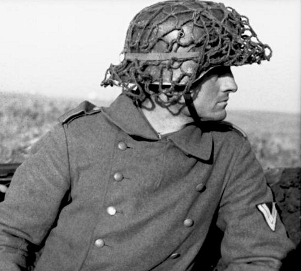Filet de casque de l'armée allemande 114
