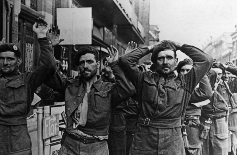Les troupes de la Luftwaffe lors de la bataille de Market Garden 141410