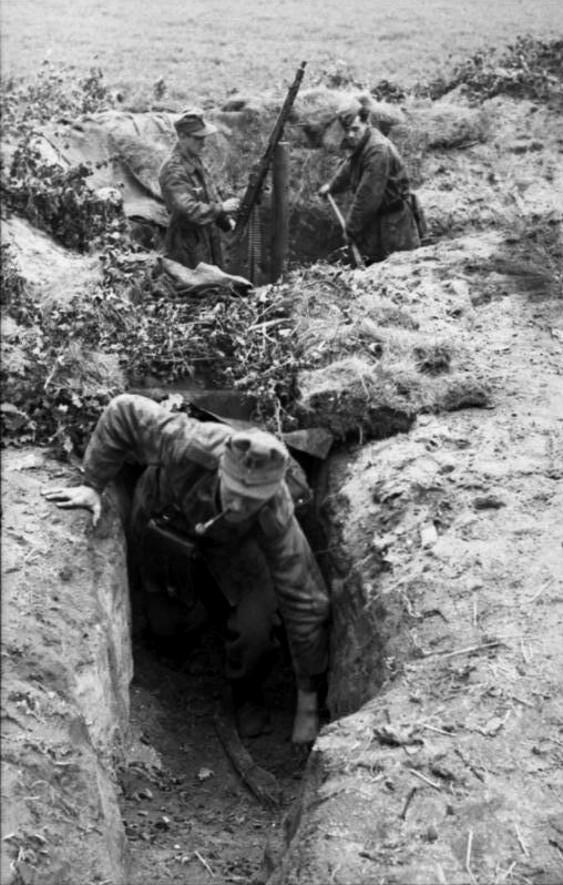 Les troupes de la Luftwaffe lors de la bataille de Market Garden 191010