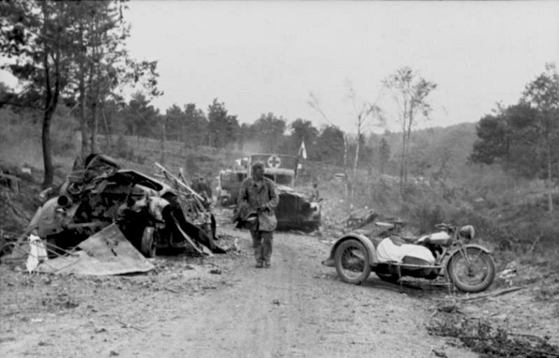 Les troupes de la Luftwaffe lors de la bataille de Market Garden 20410