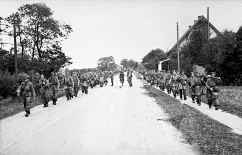 Les troupes de la Luftwaffe lors de la bataille de Market Garden 208b10