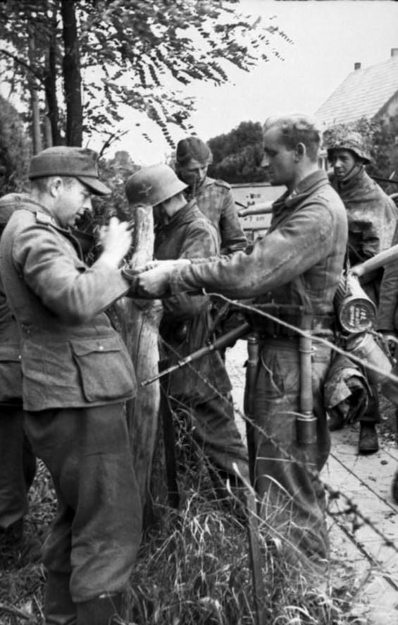 Les troupes de la Luftwaffe lors de la bataille de Market Garden 23b1110