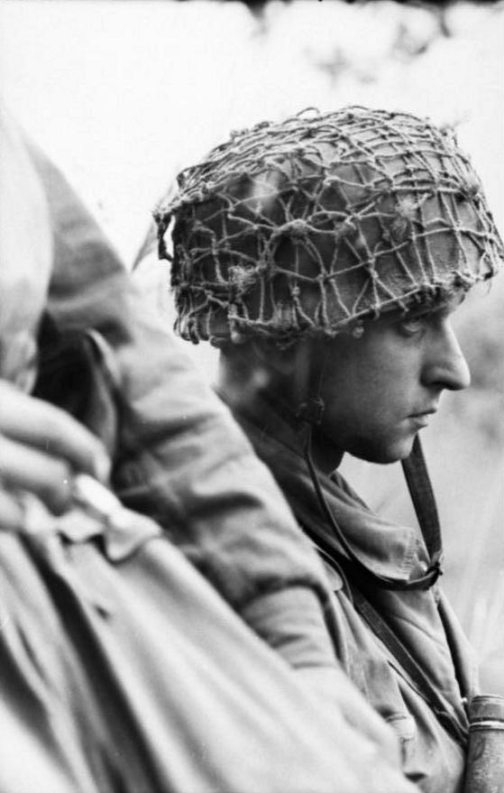 Filet de casque de l'armée allemande 2b11