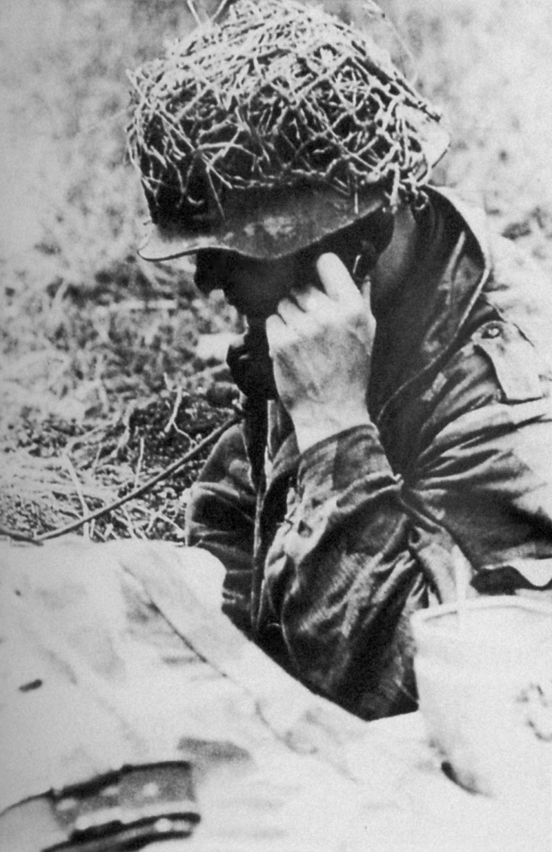 Filet de casque de l'armée allemande 32er5411