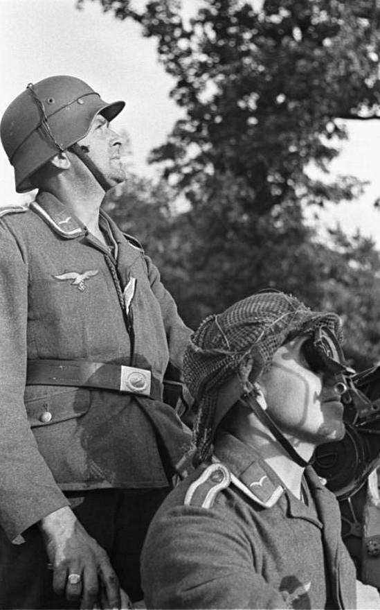 Les troupes de la Luftwaffe lors de la bataille de Market Garden 5121010