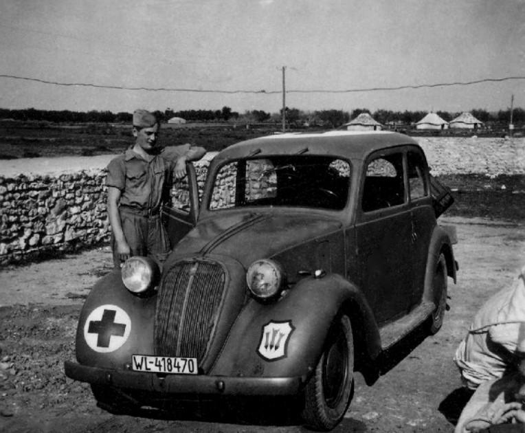 Les services sanitaires de la Luftwaffe 51811