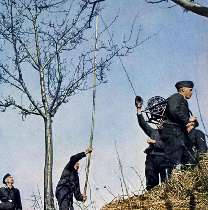Les transmissions dans la Luftwaffe 632510