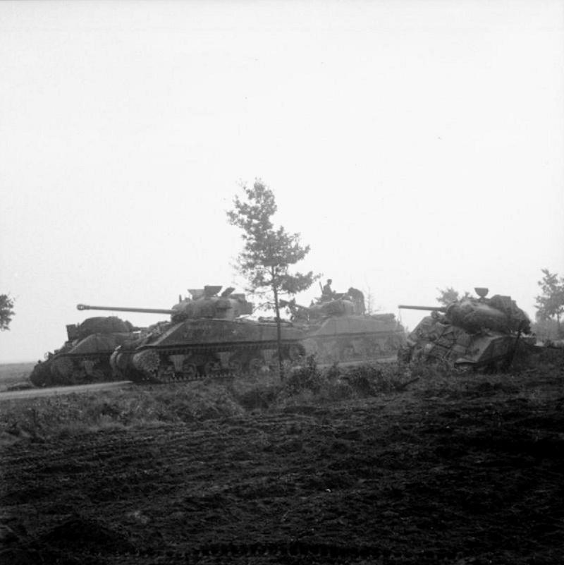 Les troupes de la Luftwaffe lors de la bataille de Market Garden 698710