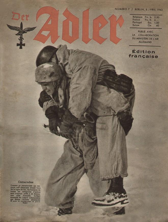 Les correspondants de guerre (Kriegsberichter) de la Luftwaffe 811