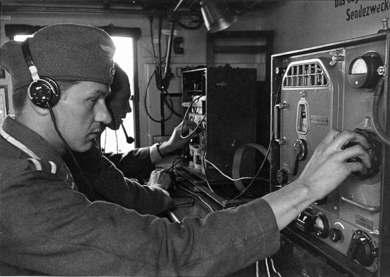 Les transmissions dans la Luftwaffe 86510