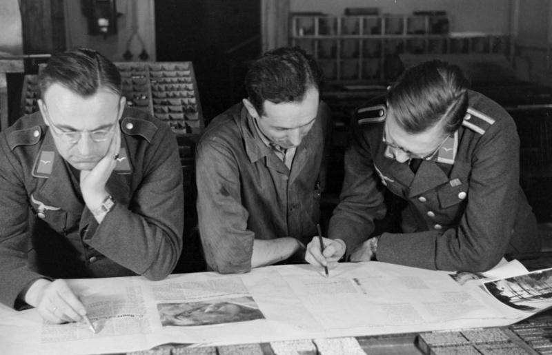 Les correspondants de guerre (Kriegsberichter) de la Luftwaffe 86710