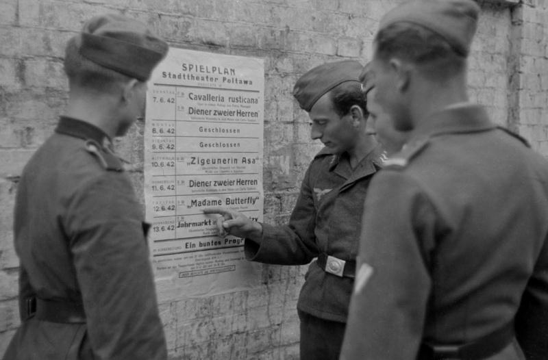 Les soldats de la Luftwaffe au repos ! 8691010
