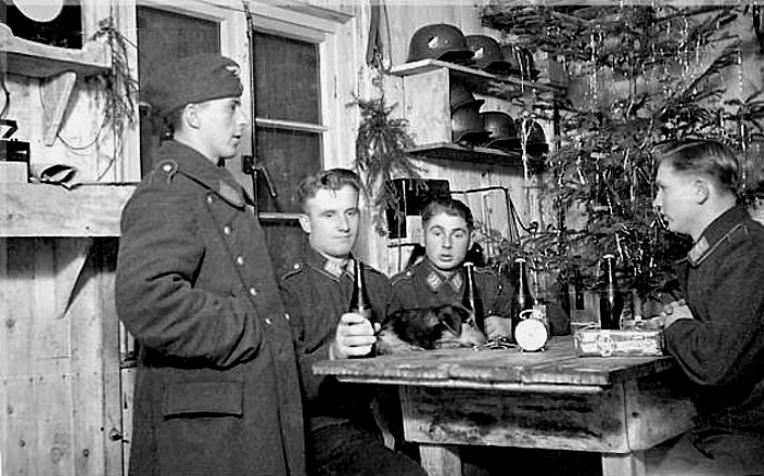 Les soldats de la Luftwaffe au repos ! 88210