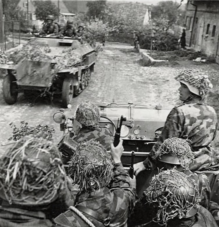 Filet de casque de l'armée allemande Aa11010